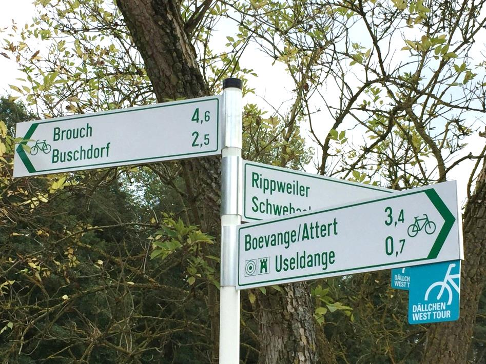 Pistes Cyclables Nationales Secteurs Portail Transports Luxembourg