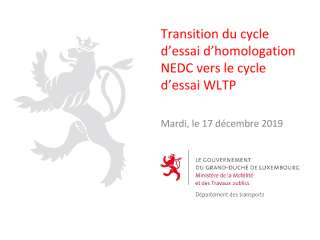 20191217-Transition du cycle d'essai d'homologation NEDC vers le cycle d'essai WLTP