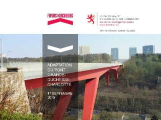 Adaptation du pont rouge