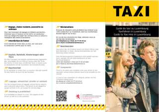 Guide du taxi au Luxembourg